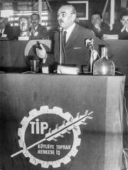 turquie, Mehmet Ali Aybar, TİP, communisme, kémalisme, chypre, vietnam,